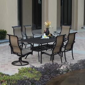 Darlee Monterey Bay Antique Bronze Aluminum Patio Dining Set