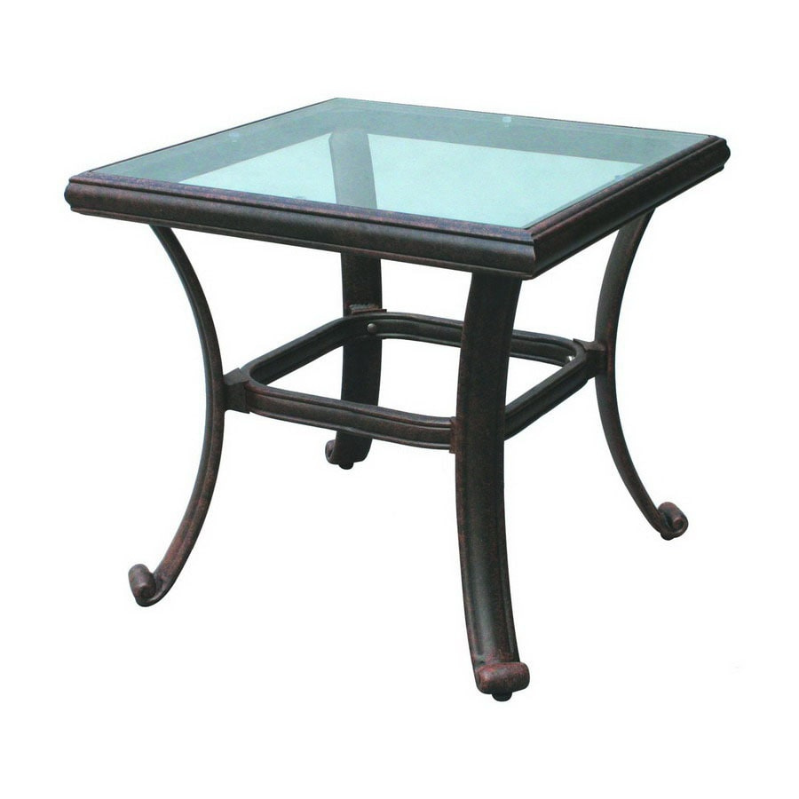 Darlee Series 50 24-in W x 24-in L Square Aluminum End Table