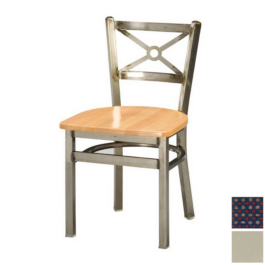Regal Seating Set of 2 Steel Anodized Nickel Side Chairs