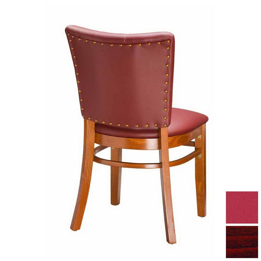 Regal Seating Set Of 2 Fine Beechwood Mahogany Dining Chairs