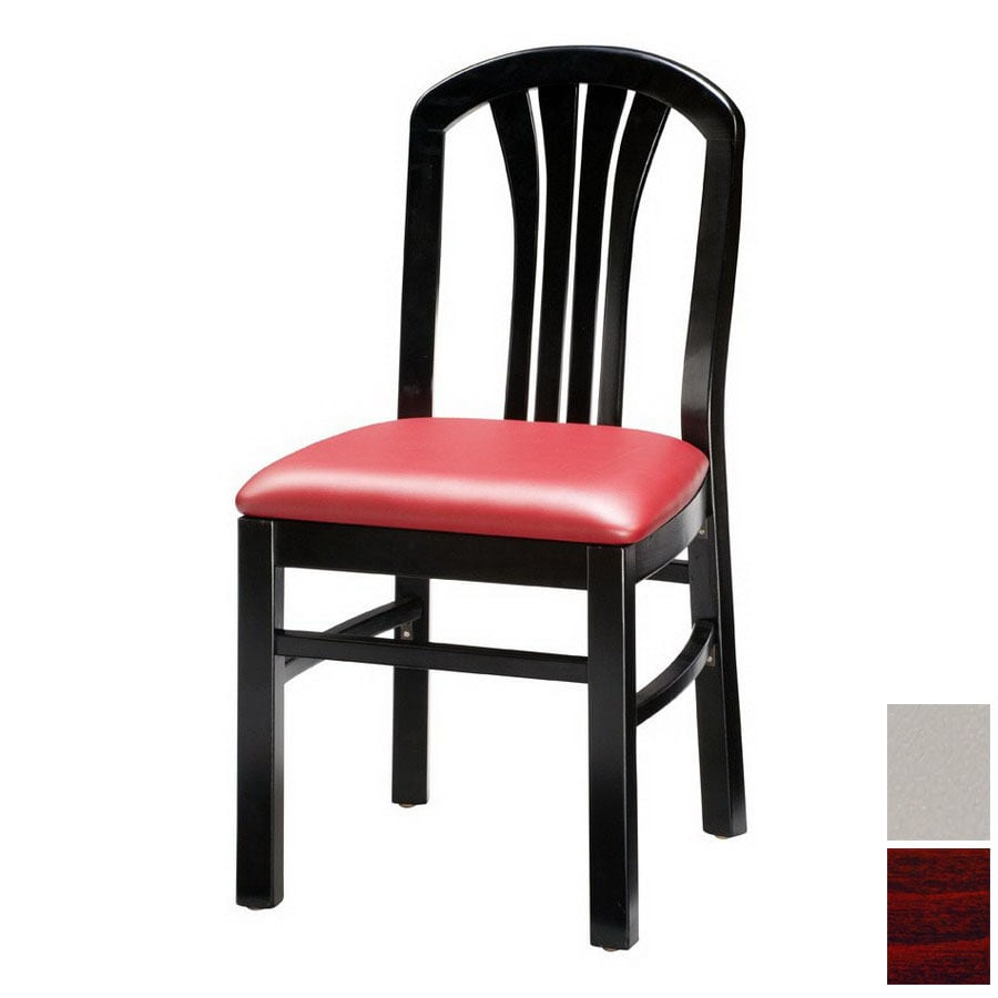 Regal Seating Set of 2 Fine Beechwood Mahogany Side Chairs