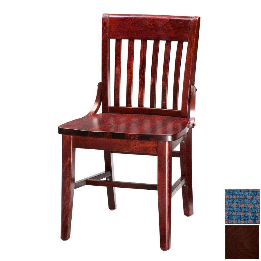 Regal Seating Set of 2 Fine Beechwood Dark Walnut Side Chairs