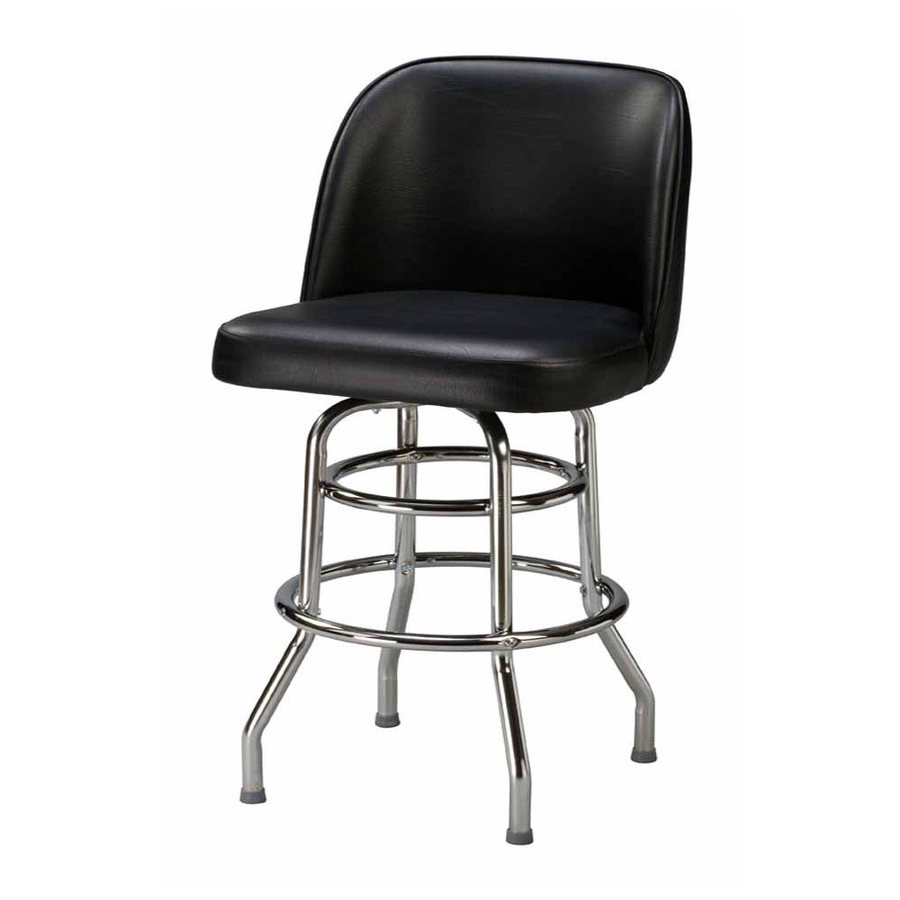 Regal Seating Steel Chrome 30-in Bar Stool