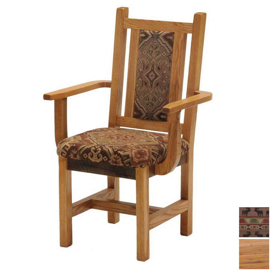 Fireside Lodge Furniture Barnwood Standard Dining Chair