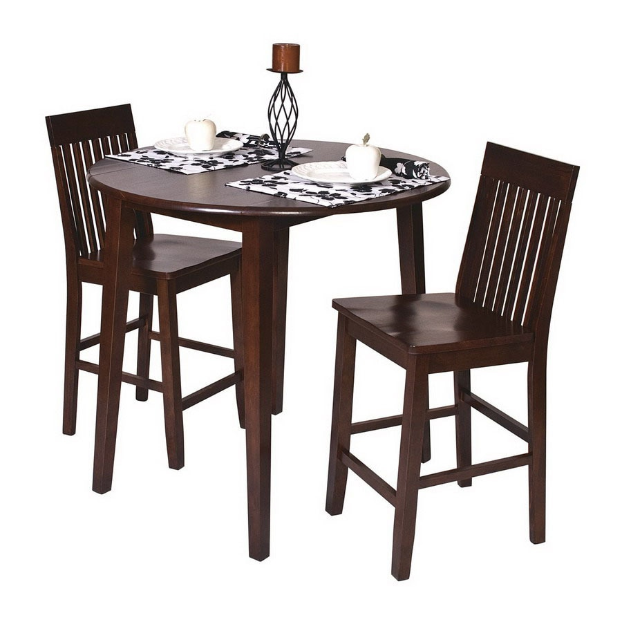 Office Star Osp Designs Espresso Dining Set