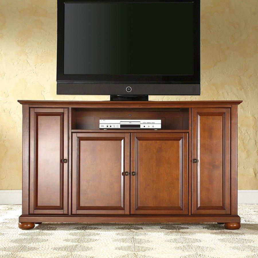 Crosley Furniture Alexandria Classic Cherry Rectangular TV Cabinet