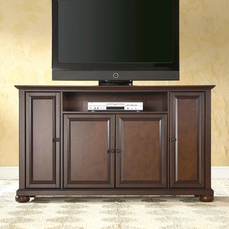Crosley Furniture Alexandria Vintage Mahogany Rectangular TV Cabinet