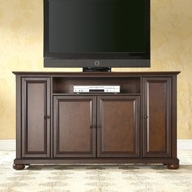 Crosley Furniture Alexandria Vintage Mahogany Rectangular TV Cabinet
