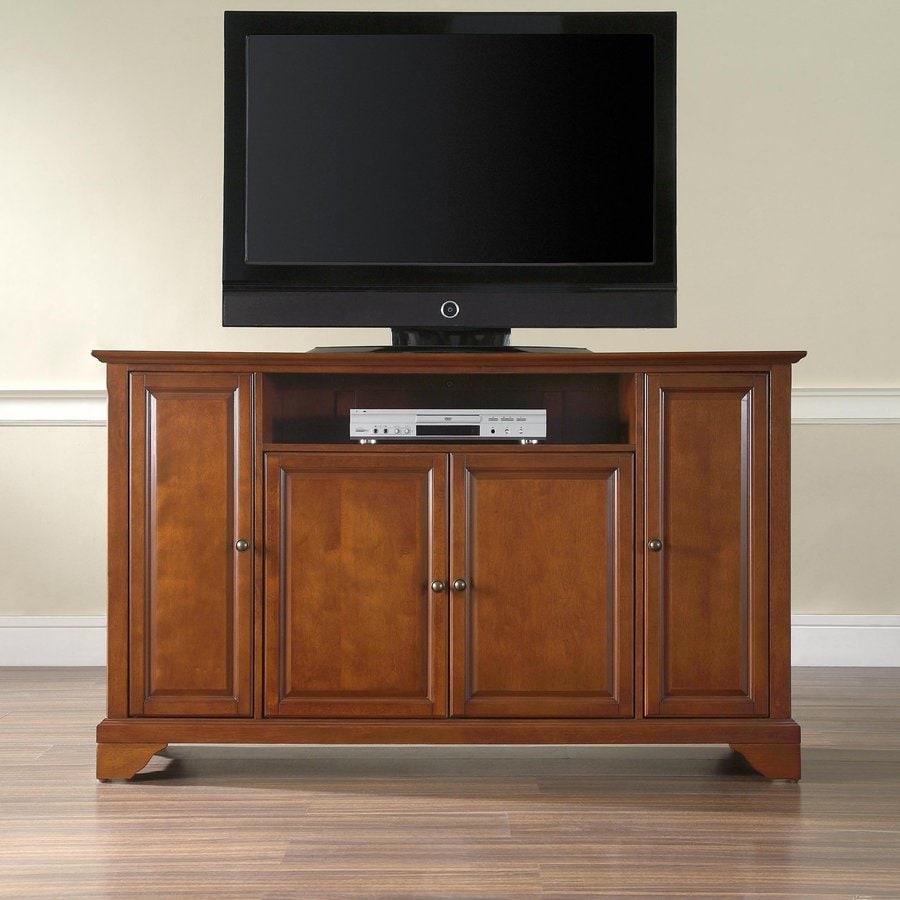 Crosley Furniture Lafayette Classic Cherry Rectangular TV Cabinet