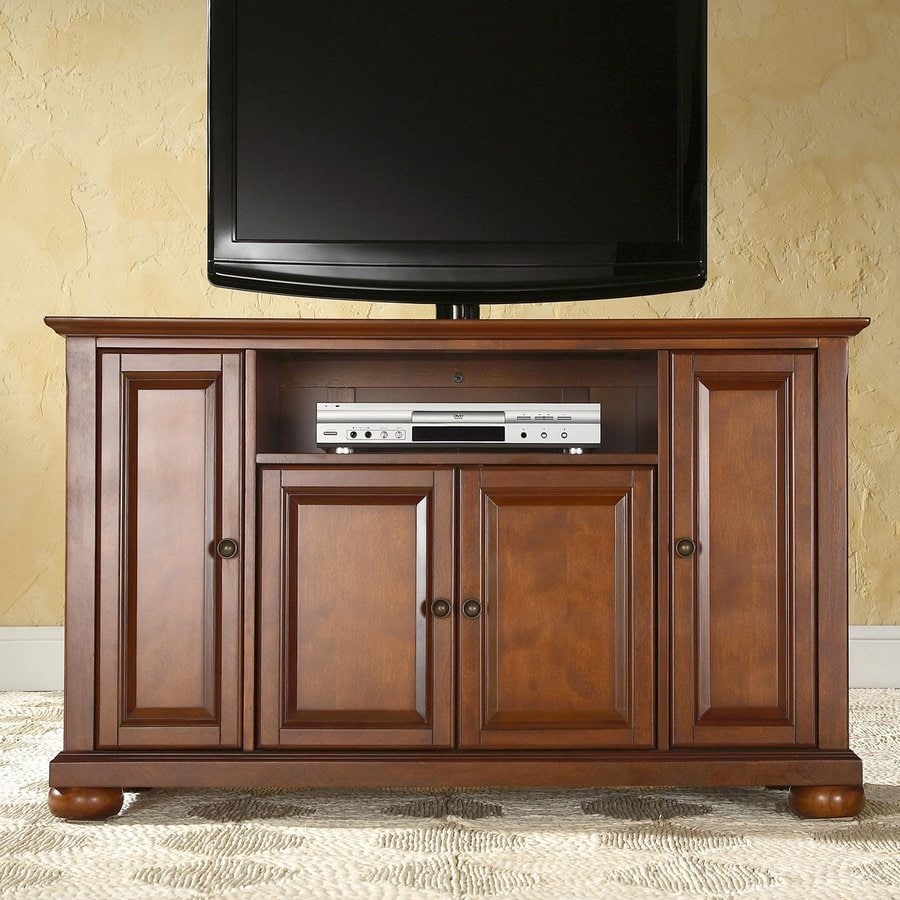 shop crosley furniture alexandria classic cherry tv cabinet at. Black Bedroom Furniture Sets. Home Design Ideas