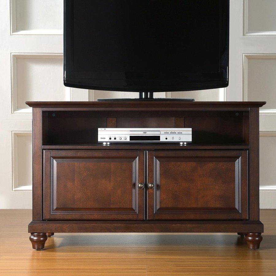 Crosley Furniture Cambridge Vintage Mahogany TV Cabinet