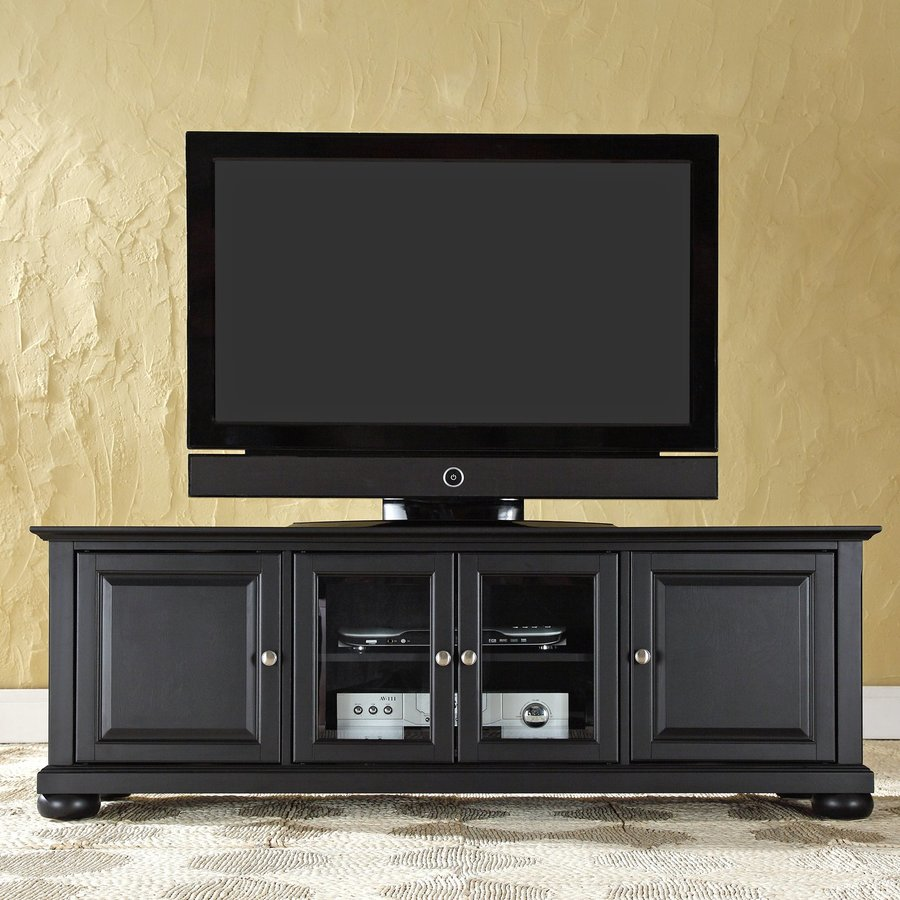 Crosley Furniture Alexandria Black TV Cabinet