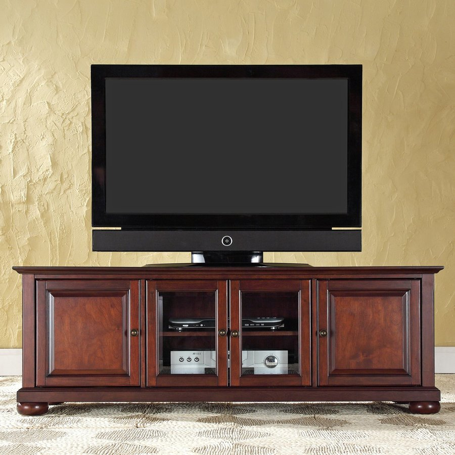Crosley Furniture Alexandria Vintage Mahogany TV Cabinet