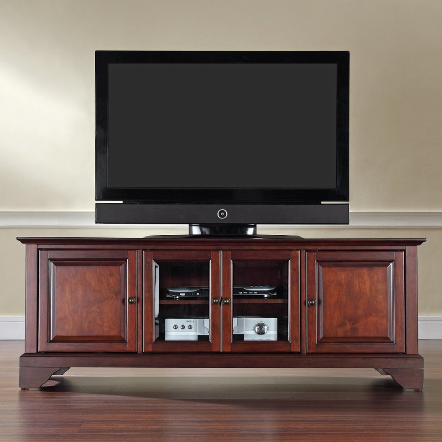 Crosley Furniture Lafayette Vintage Mahogany TV Cabinet