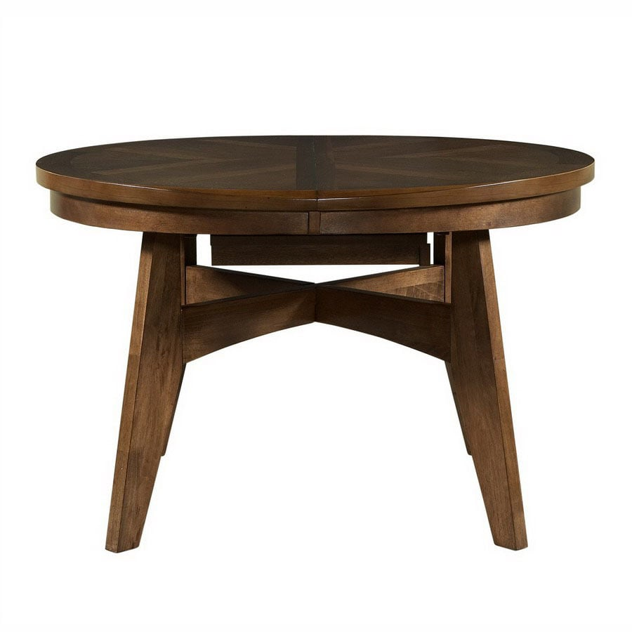 Powell Tiburon American Walnut Oval Dining Table