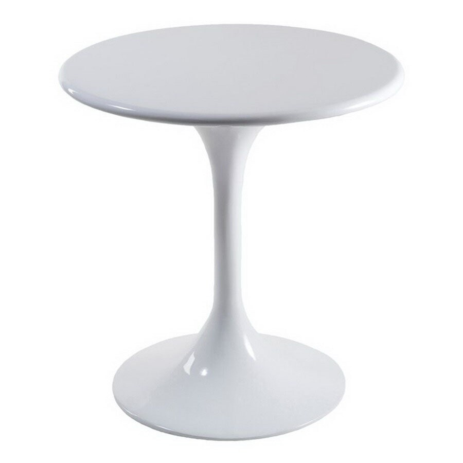 Eurostyle Tonia Bistro White Round Dining Table