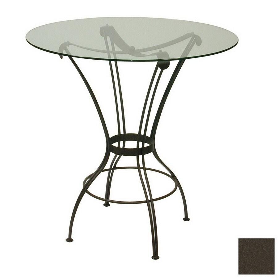 Trica Transit Titanium Round Dining Table