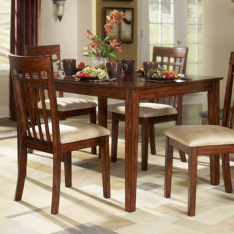 Homelegance Benford Burnished Cherry Rectangular Dining Table