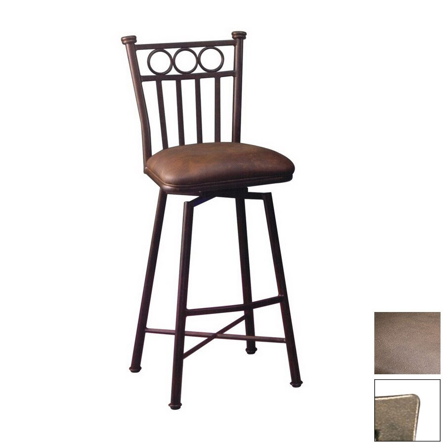 Beau Pastel Furniture Bostonian Bronze 34 In Bar Stool
