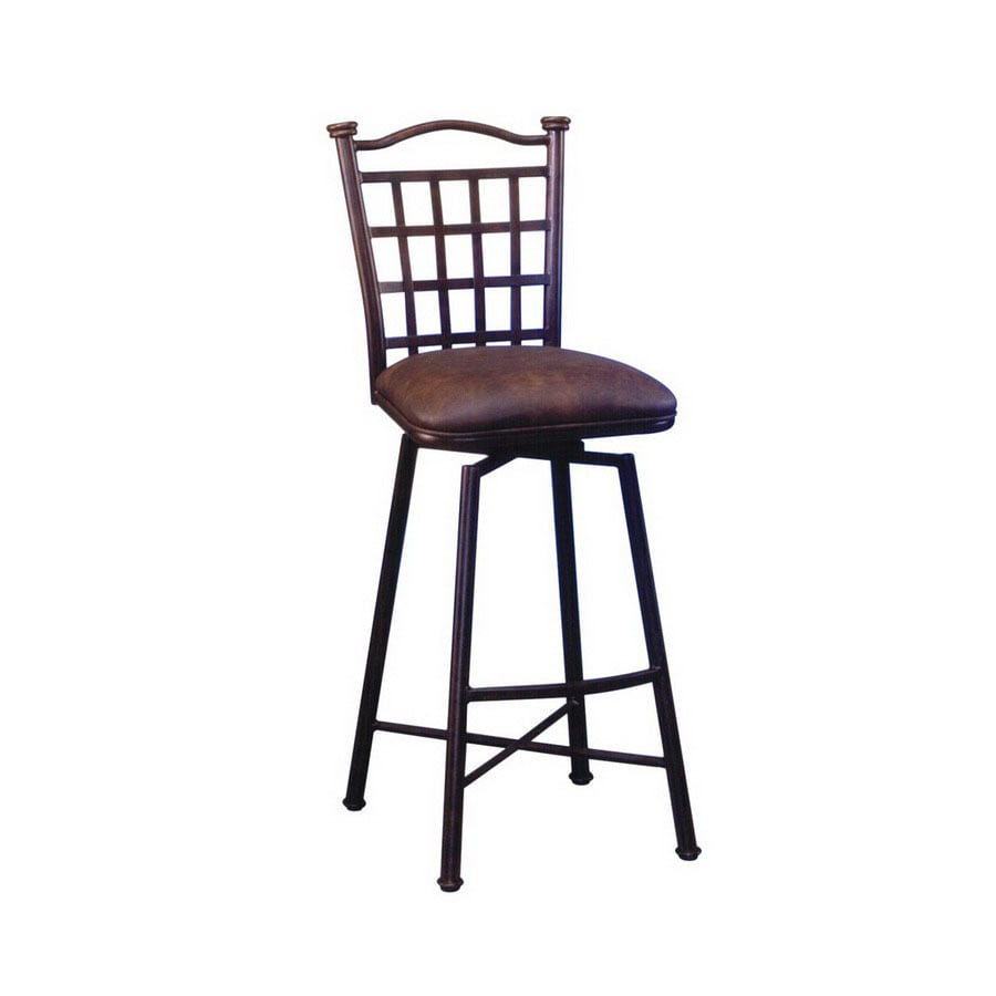 Pastel Furniture Bay Point Autumn Rust 30 In Bar Stool