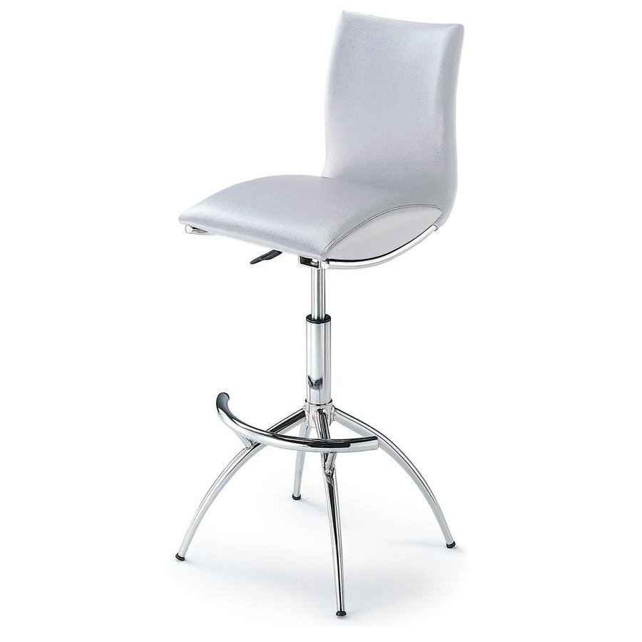 New Spec Chrome Adjustable Stool