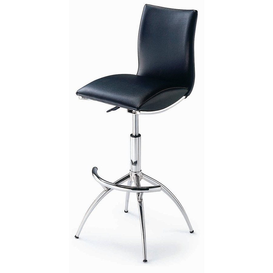New Spec Chrome 31-in Adjustable Stool