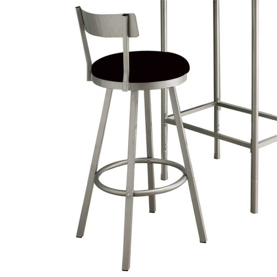 Monarch Specialties Silver Bar Stool