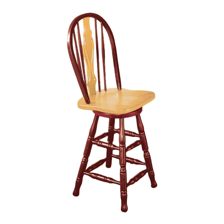 Sunset Trading Sunset Selections Nutmeg/Honey Light Oak Counter Stool