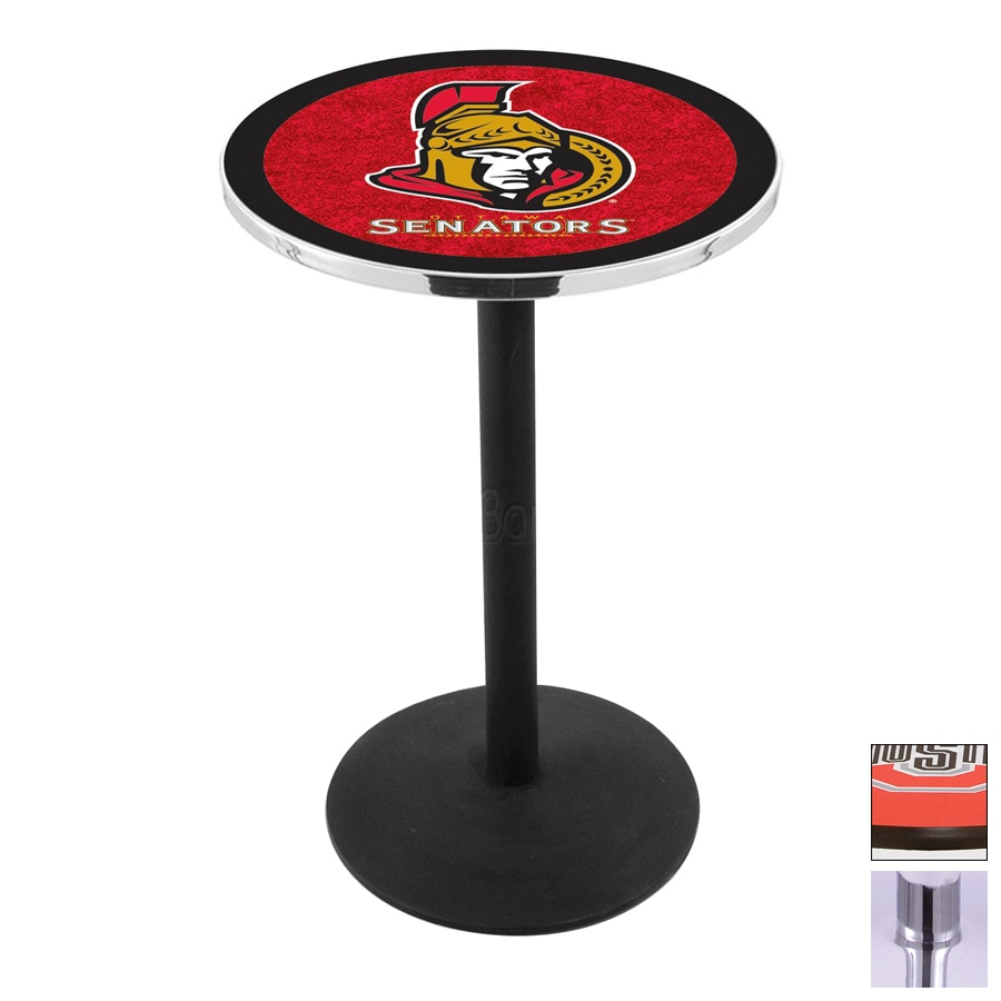 Holland Ottawa Senators Chrome Round Dining Table