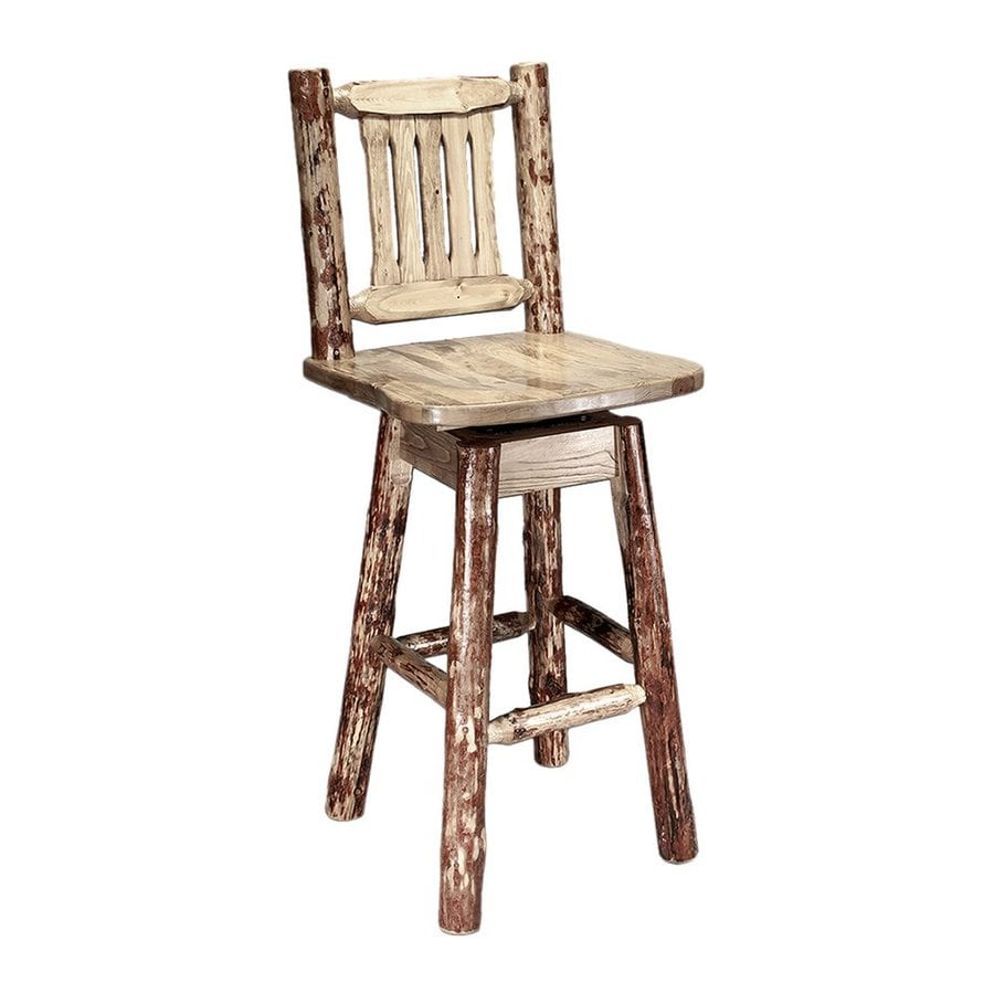 Shop Montana Woodworks Glacier Country Rustic Stained And