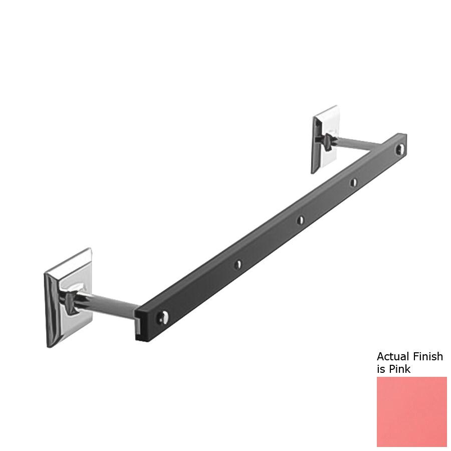 Nameeks Grip Pink Single Towel Bar (Common: 13-in; Actual: 13.58-in)