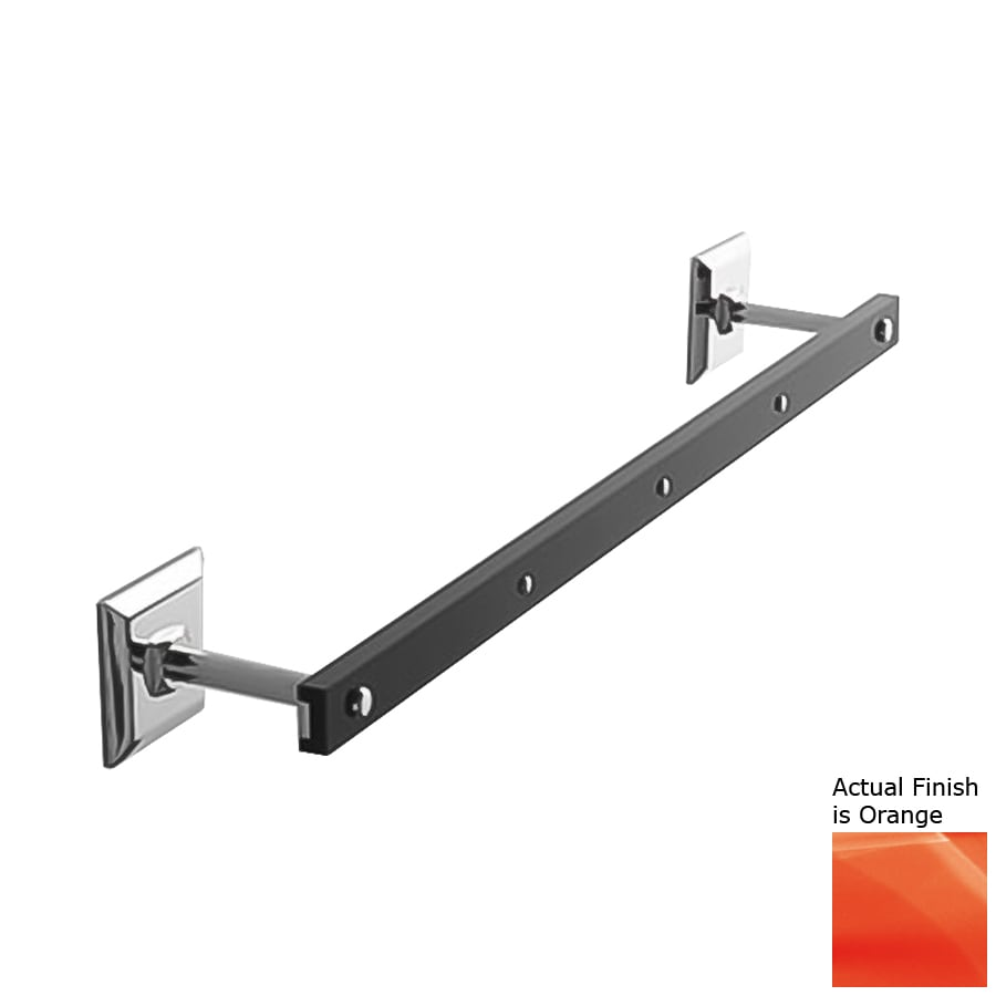 Nameeks Grip Orange Single Towel Bar (Common: 17-in; Actual: 17.52-in)
