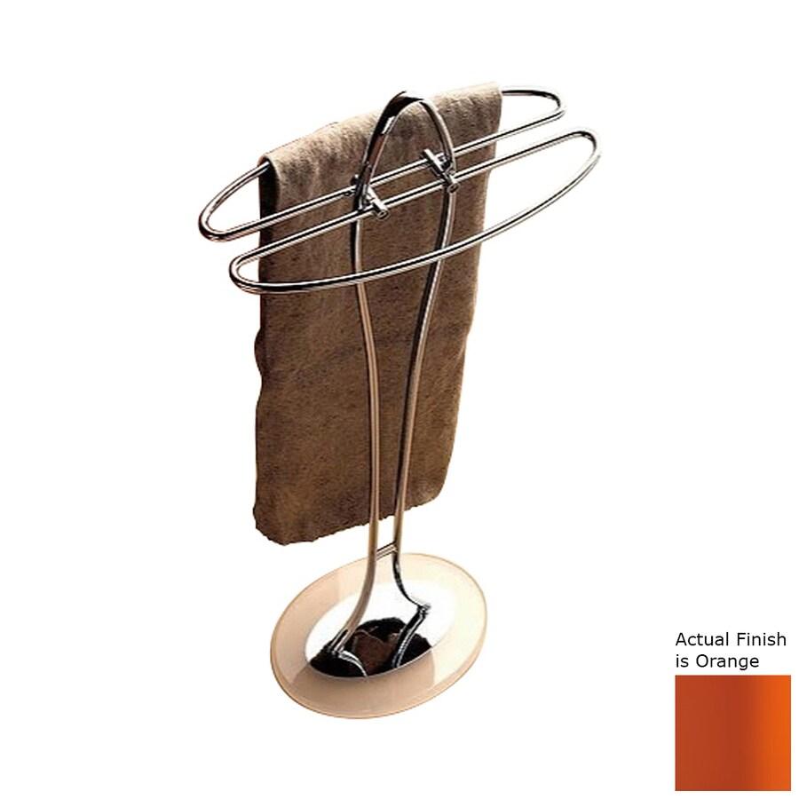 Nameeks Kor Orange Rack Towel Bar (Common: 14-in; Actual: 14.17-in)