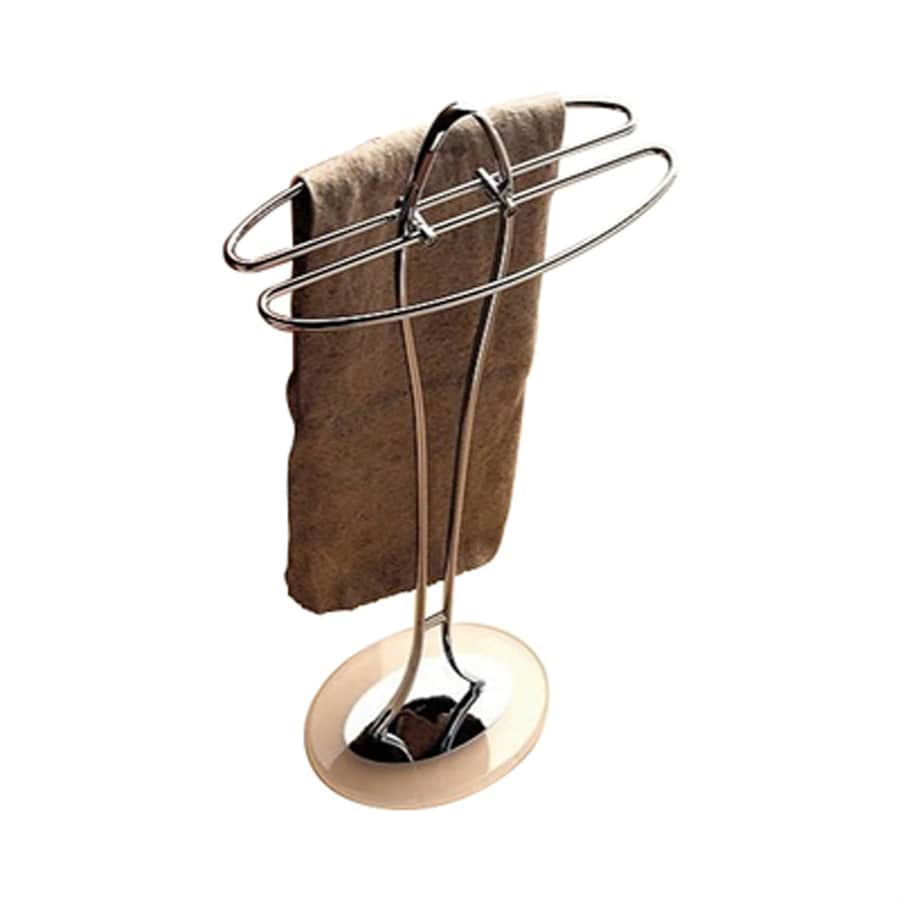 Nameeks Kor White Towel Rack (Common: 14-in; Actual: 14.17-in)