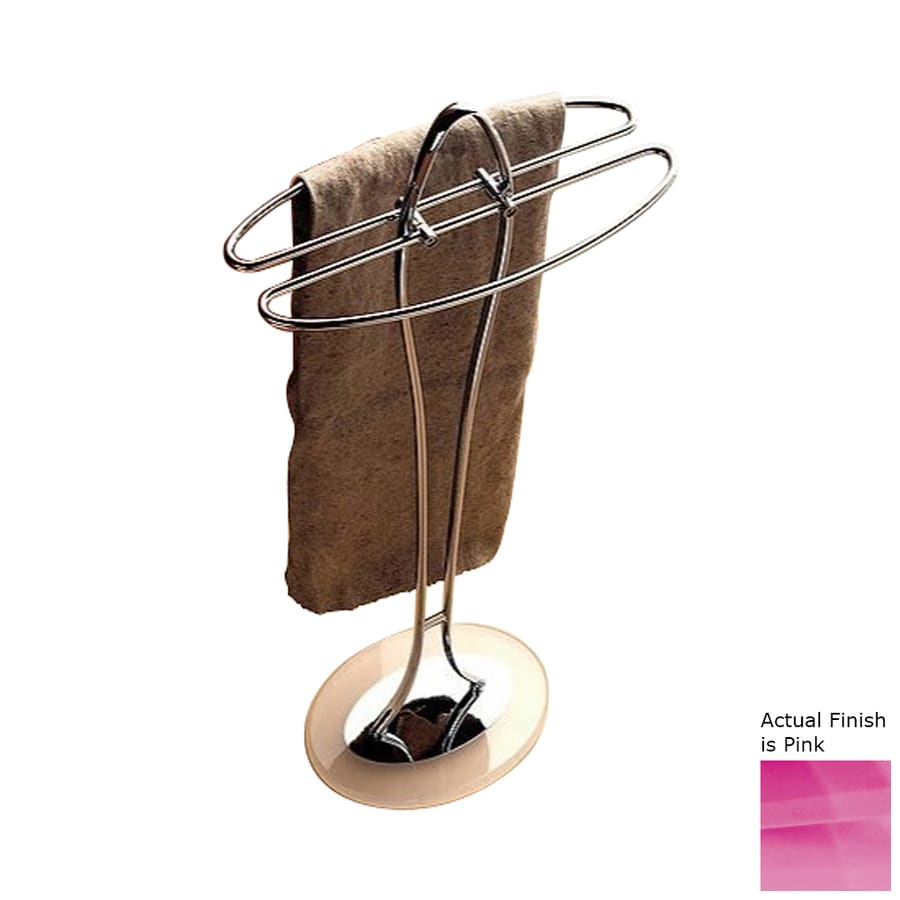 Nameeks Kor Pink Towel Rack (Common: 14-in; Actual: 14.17-in)