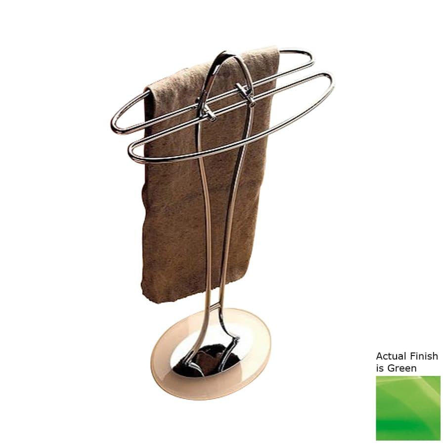 Nameeks Kor Green Rack Towel Bar (Common: 14-in; Actual: 14.17-in)