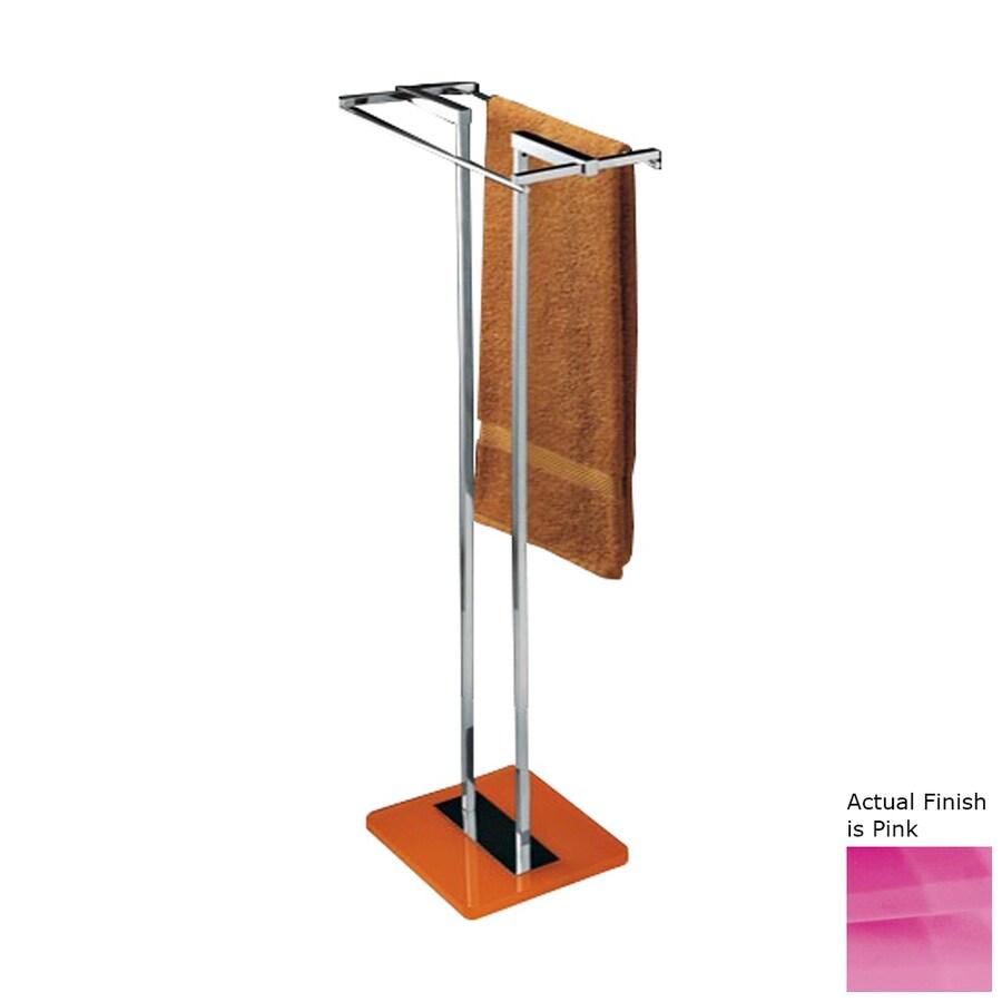 Nameeks Eden Pink Rack Towel Bar (Common: 14-in; Actual: 14.17-in)