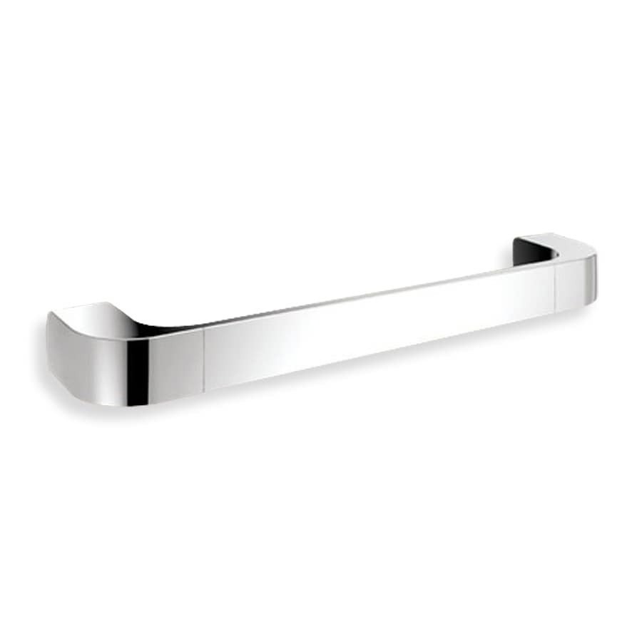 Nameeks Outline Chrome Single Towel Bar (Common: 14-in; Actual: 13.82-in)