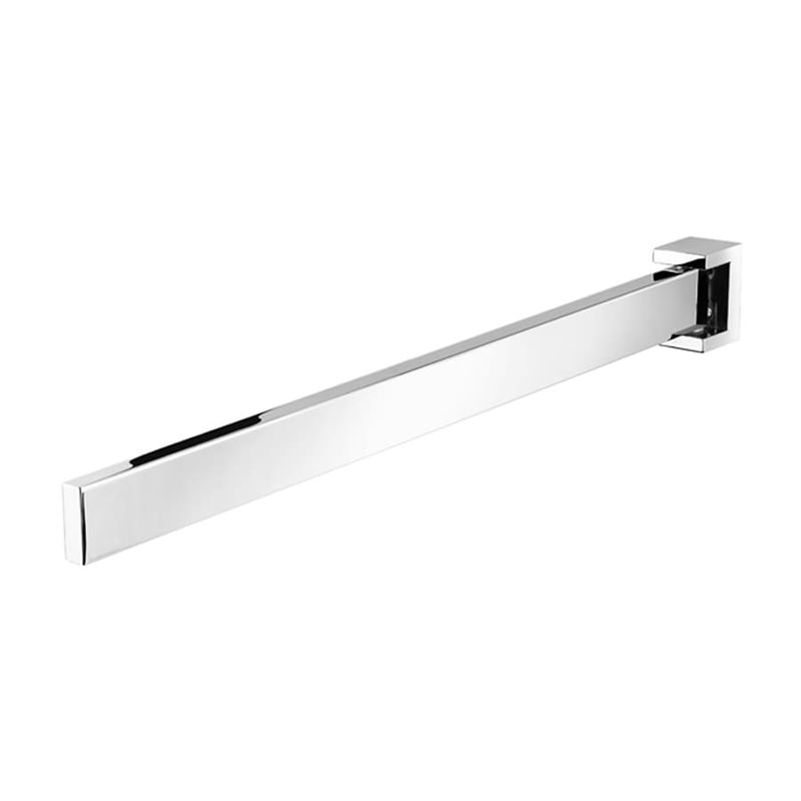 Nameeks Modern Art Chrome Single Towel Bar (Common: 16-in; Actual: 15.8-in)