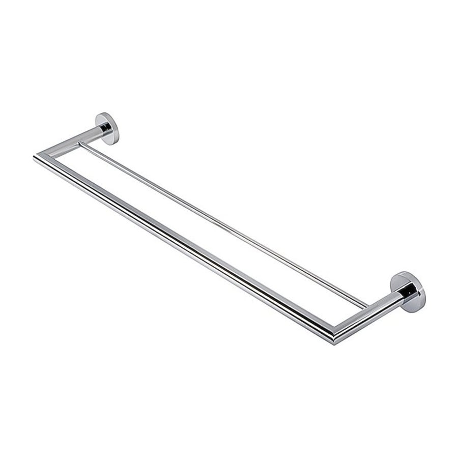 Nameeks Nemox Chrome Double Towel Bar (Common: 26-in; Actual: 25.51-in)