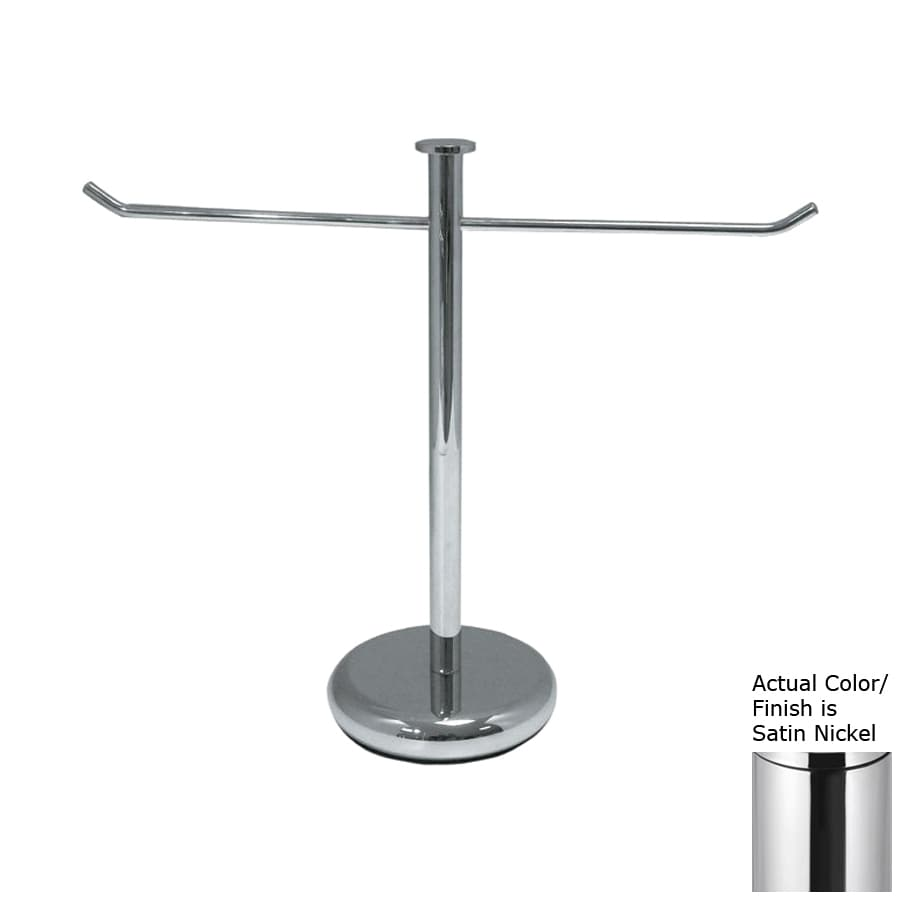 Nameeks Fluyd Satin Nickel Brass Towel Rack
