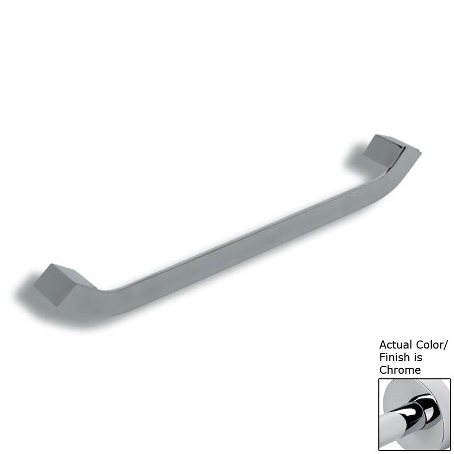 Nameeks Fluid Chrome Single Towel Bar (Common: 18-in; Actual: 17.72-in)