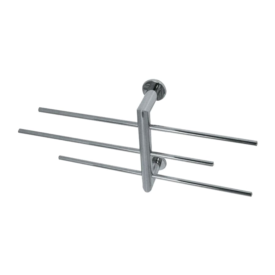 Nameeks Fluyd Chrome Rack Towel Bar (Common: 11-in; Actual: 10.63-in)