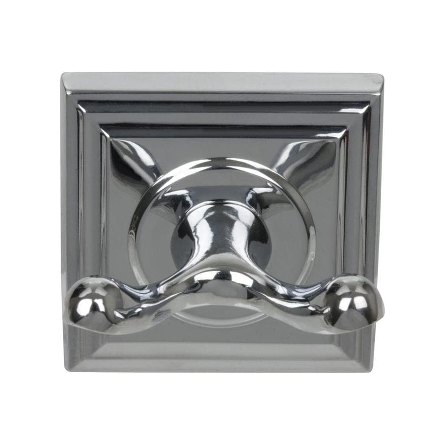 The Delaney Company 700 Series 2-Hook Chrome Robe Hook