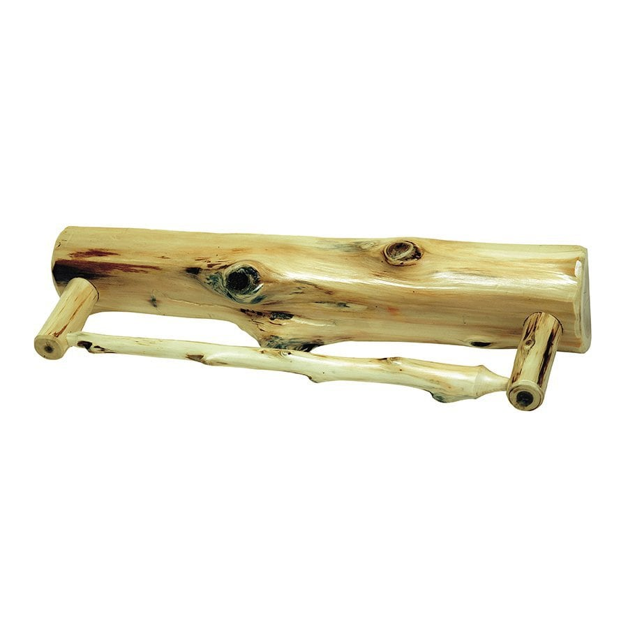Fireside Lodge Furniture Cedar Traditional Cedar Single Towel Bar (Common: 36-in; Actual: 36-in)