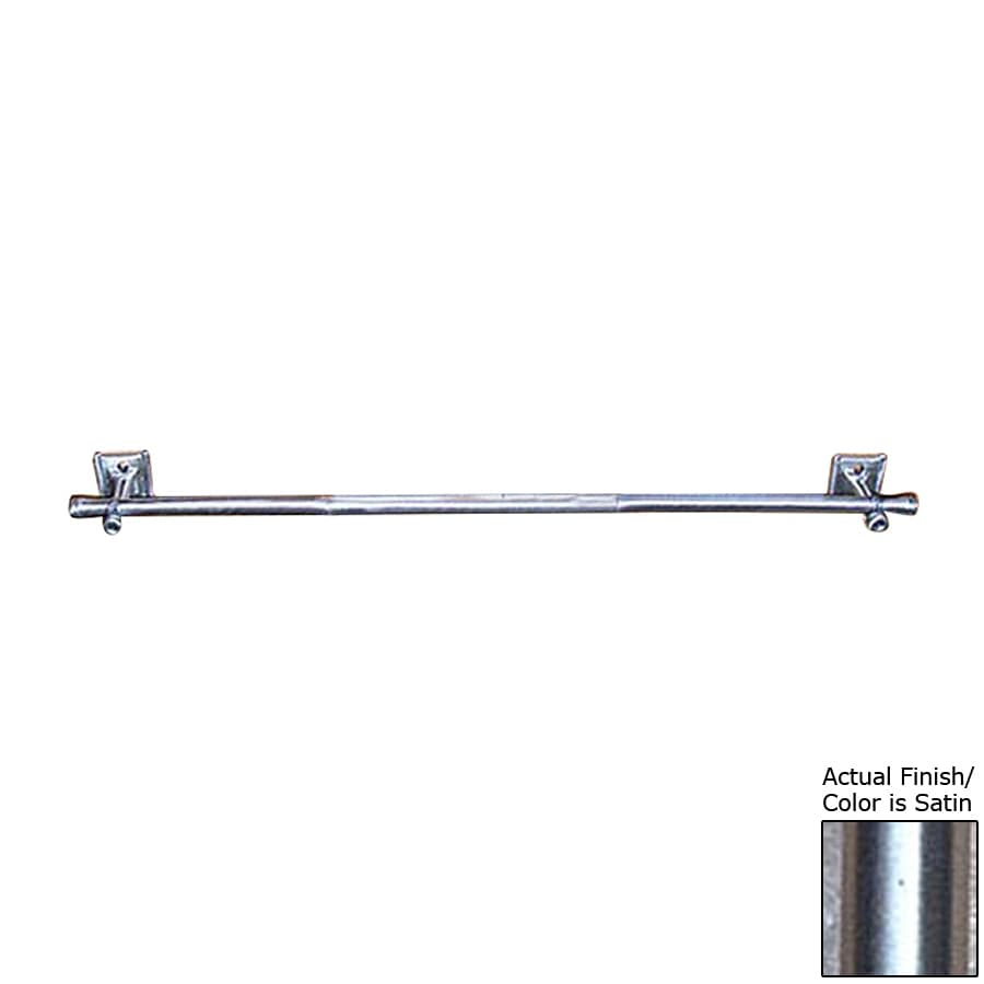 D'Artefax Bamboo Satin Single Towel Bar (Common: 24-in; Actual: 24-in)