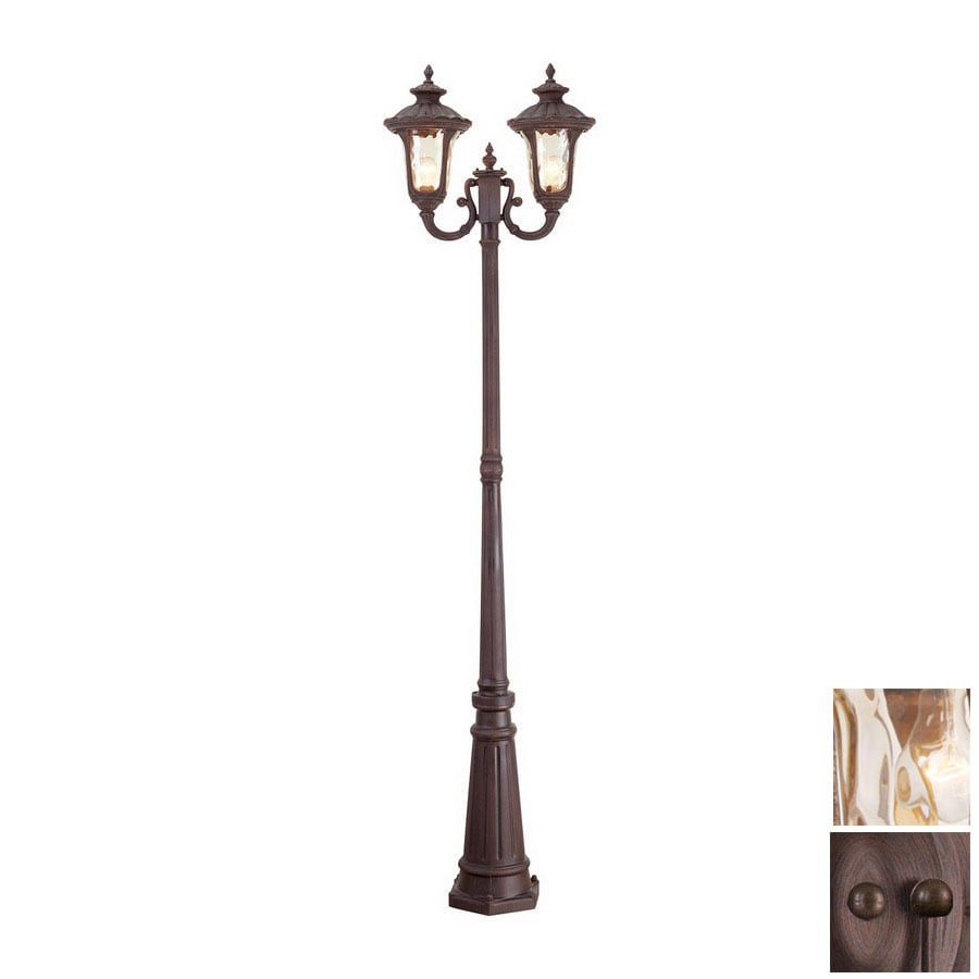 Livex Lighting Oxford 87-in Imperial Bronze Standard Post Light