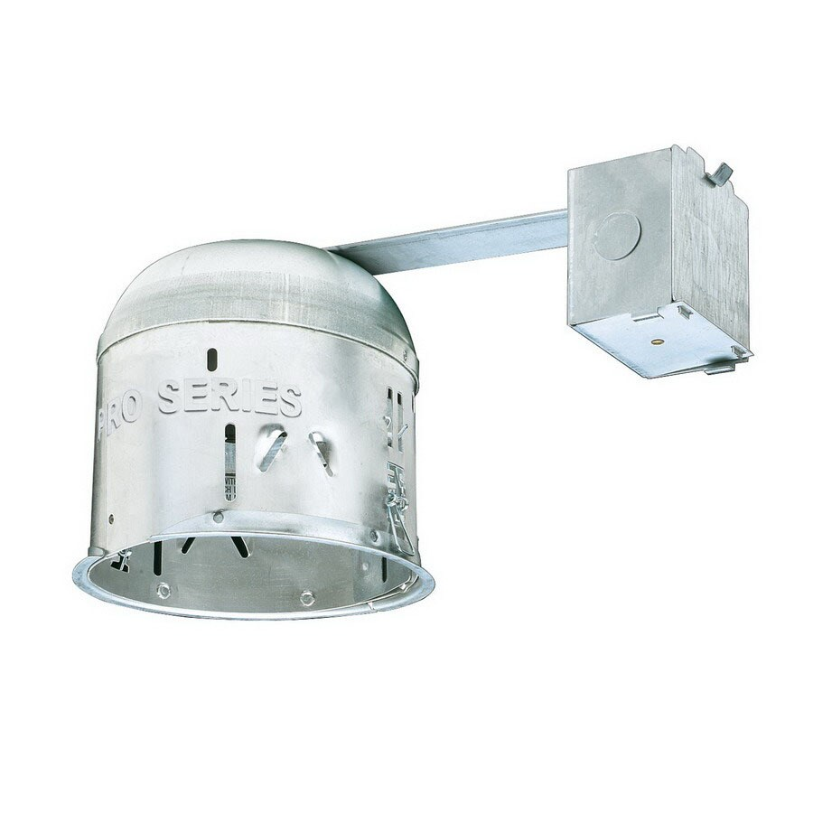 Thomas Lighting 6-in Remodel Shallow Recessed Light Housing