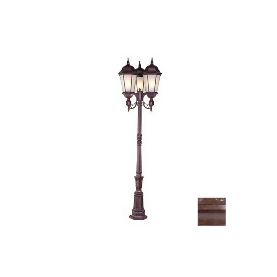 Acclaim Lighting Richmond 97-in Burled Walnut Standard Post Light