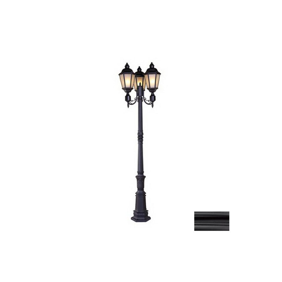 Acclaim Lighting Beaufort 97-in Matte Black Standard Post Light